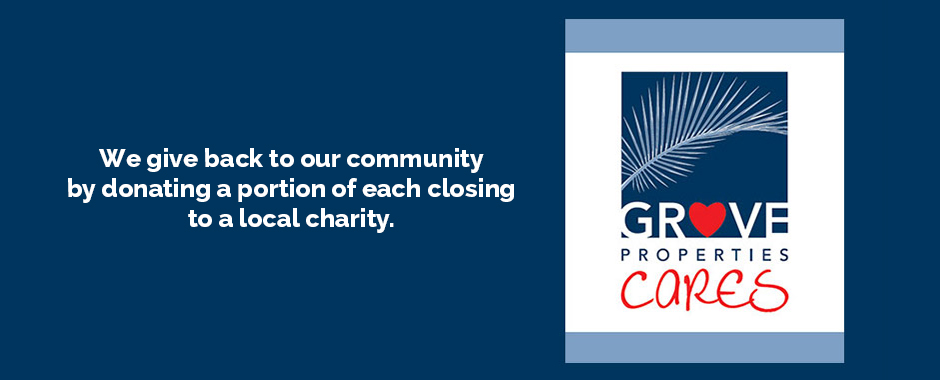 Grove Properties Cares logo