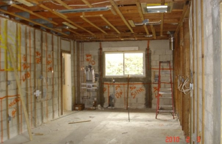 5815 new kitchen construction