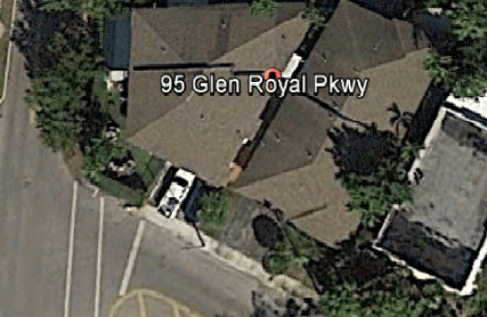 95 glen royal pkwy aerial