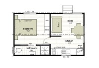 Cabin Floor Plans | Oxley Anchorage Caravan Park