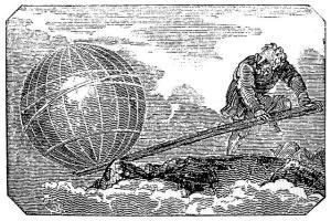 Archimedes hebelt die Welt aus