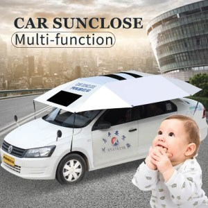 SUNCLOSE hot selling all fit car sedan suv tent car umbrella for outdoor parking