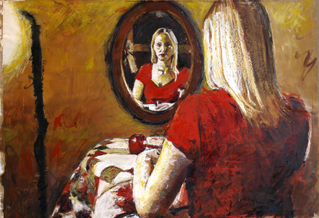 Lady in the Mirror
