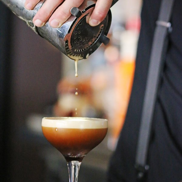 Espresso martini, Sean's hands, dodgy braces