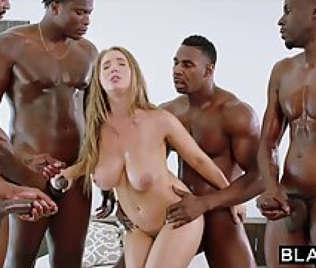 Horny Black Guys Have Gathered Up To Fuck Lena Paul At The S