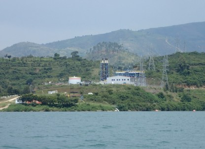 Kivu-Watt in Lake Kivu