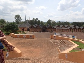 Inside the Museum Grounds in Huye