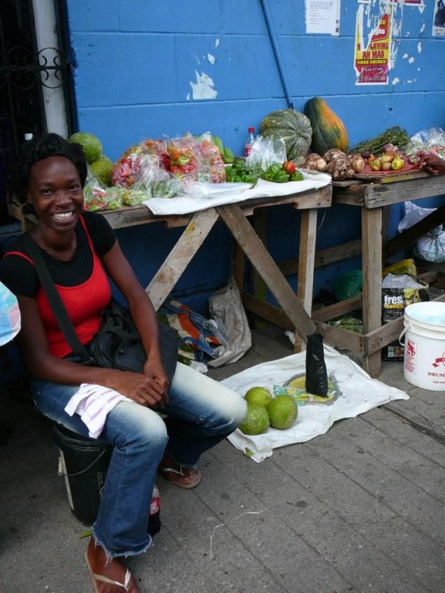 Sur le marche de St Georges a Grenade