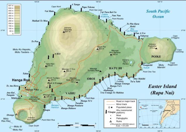 3 Carte Touristique Ile de Paques