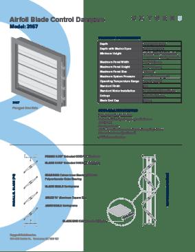 Oxygen8 Indoor Damper Spec