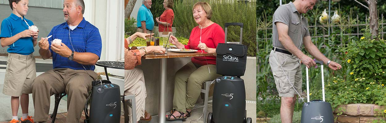 SeQual Eclipse 5 Portable Concentrator