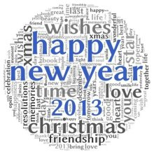 15891110-happy-new-year-2013-greeting-card-in-tag-cloud