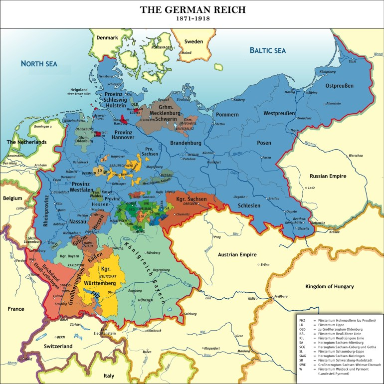 40 Maps That Explain World War I | Vox pertaining to Map Of Germany During Ww1