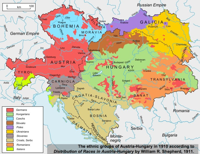 40 Maps That Explain World War I   Vox with Germany Map 1914