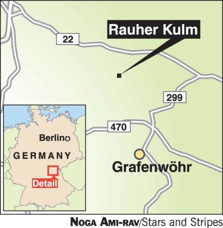 A Climb Up Rauher Kulm Leads To Spectacular Bavarian Views - Travel intended for Grafenwoehr Germany Map