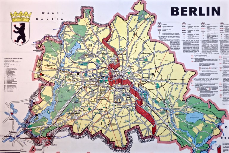 Berlin Germany At Wall Map | Illustrations In 2019 | Berlin Wall inside Berlin Wall Map Germany