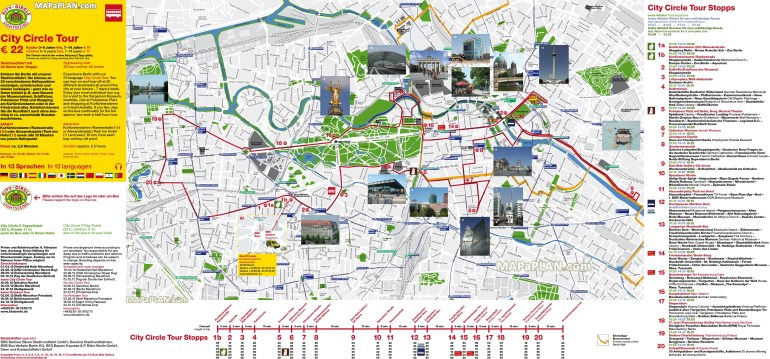 Berlin Maps - Top Tourist Attractions - Free, Printable City Street Map pertaining to Germany Map Tourist Destinations