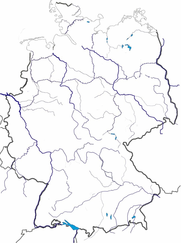 Blank Maps Of Germany inside Blank Map Of Germany With States