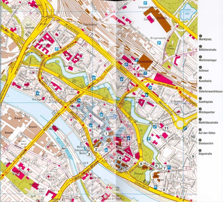 Bremen Map - Detailed City And Metro Maps Of Bremen For Download intended for Bremen Port Germany Map
