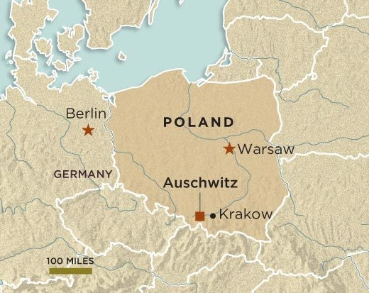 Can Auschwitz Be Saved? | History | Smithsonian for Auschwitz Germany Map