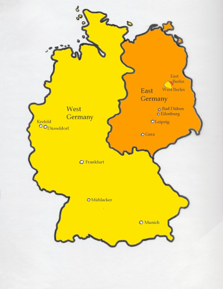 Divided Germany Map | Woestenhoeve in 67 Germany Divided Map