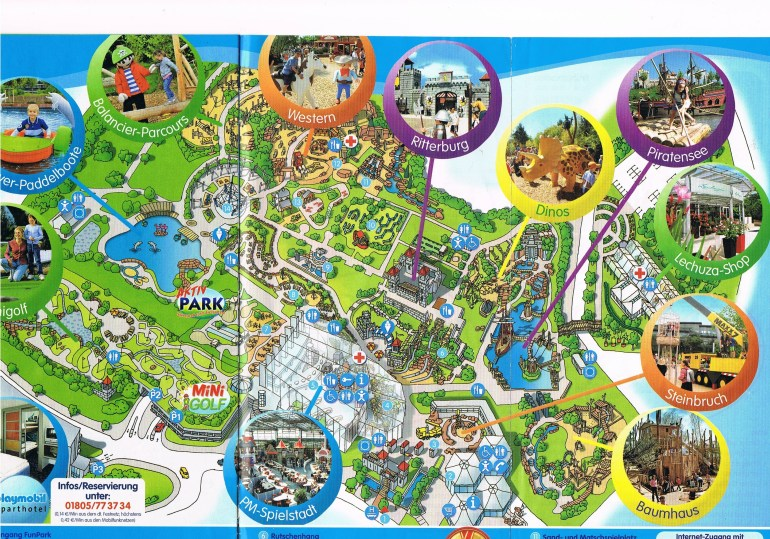 Entertainment Parks In Germany #1 - Nadja's Germany with Map Of Europa Park Germany