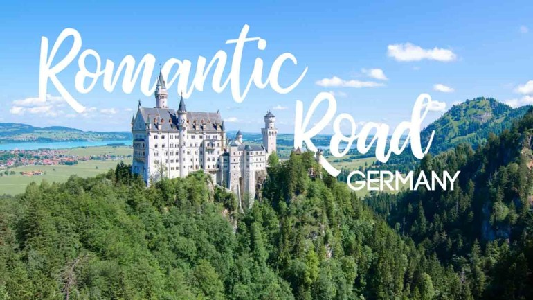 Everything You Need To Know About Germany's Romantic Road with Romantic Road Germany Map