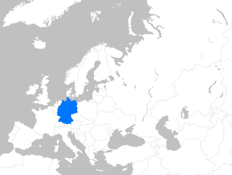 File:europe Map Germany - Wikimedia Commons with Where Is Germany In Europe Map
