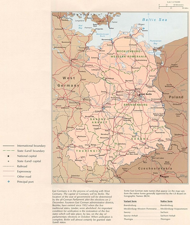Former East Germany Political Map - Full Size | Gifex in East Germany Map