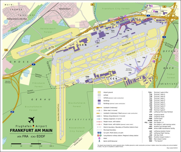 Frankfurt Airport Map Have You Been Here? | Airports | Frankfurt with regard to Frankfurt Germany Airport Map
