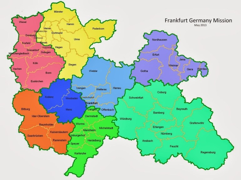 Frankfurt Districts Map - Map Of Frankfurt And Surrounding Area pertaining to Map Of Frankfurt Germany Area