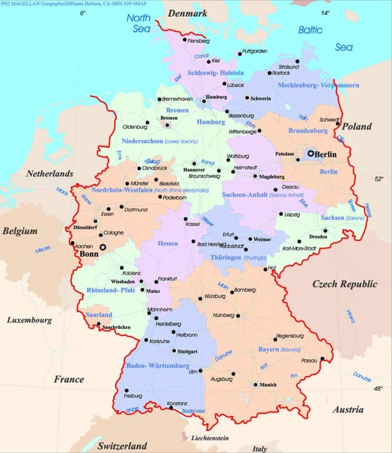 Freiburg Map And Freiburg Satellite Image regarding Map Of Germany Showing Freiburg