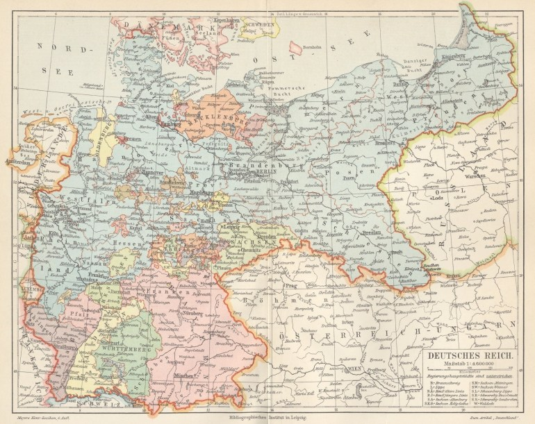 German Empire In 1900 | Gifex in German Map In 1900