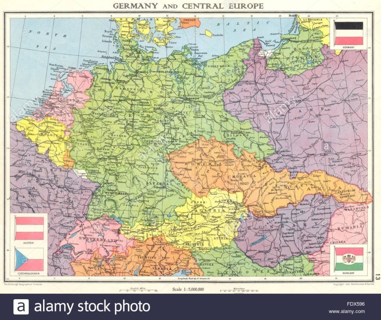 Germany & Central Europe: Shortly Before World War 2. Saarland, 1938 intended for Germany Map Before World War 2