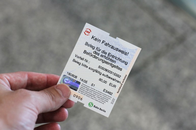 Getting Caught Without A Valid Ticket On Berlin Public Transport And with Monatskarte Bvg Berlin