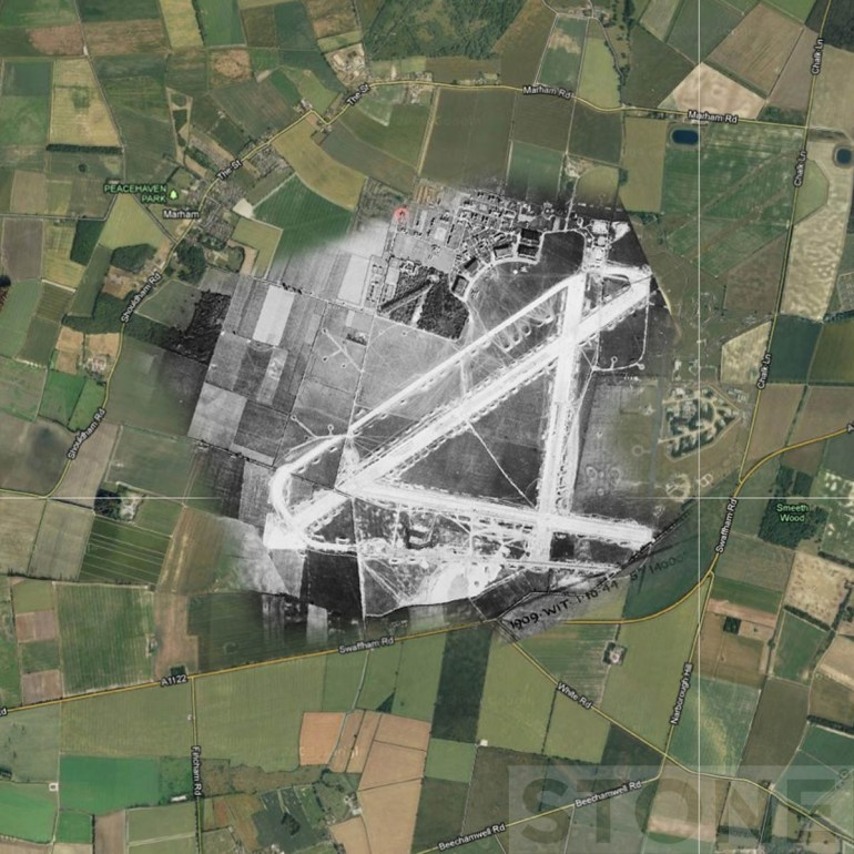 Ghost Airfields Of Ww2: Part 2 | Invisible Works intended for Map Of German Ww2 Airfields