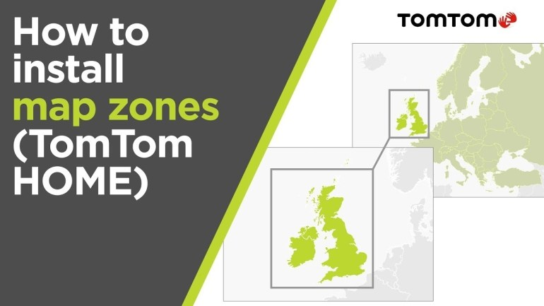 How To Install Map Zones Using Tomtom Home (Europe Map) within Tomtom Germany Map Download