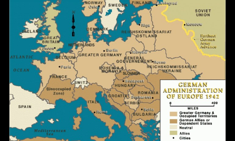 Invasion Of France – The Holocaust Explained: Designed For Schools within German Invasion Of Europe Map