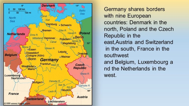 Madetamás Sávai. Germany Is A Country In West- Central Europe regarding Map Of Germany Austria Switzerland And Czech Republic