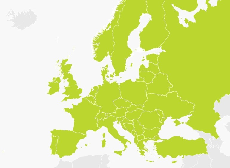 Map Of Europe | Tomtom with Tomtom Germany Map Download