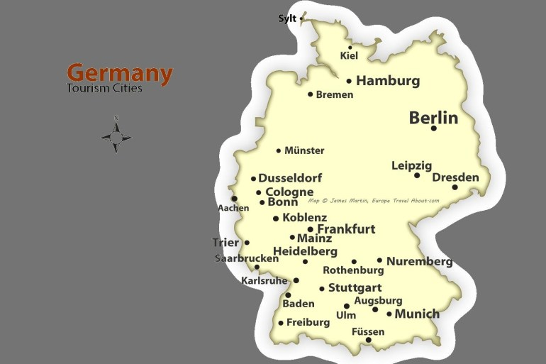 Map Of Frankfurt Germany And Surrounding Area - Map Frankfurt within Frankfurt Hesse Germany Map