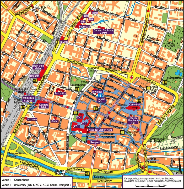 Map Of Freiburg Germany And Travel Information   Download Free Map throughout Freiburg Germany Map