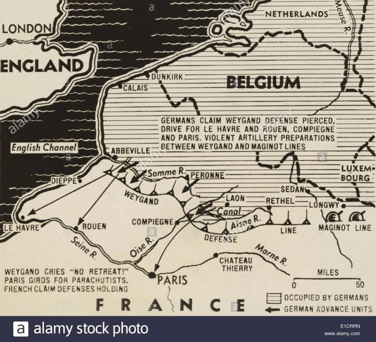 Map Of German World War 2 Invasion And Allied Resistance In Early in Ww2 German Maps Of Britain
