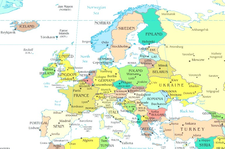 Map Of Germany And Europe And Travel Information | Download Free Map inside Germany Map Europe
