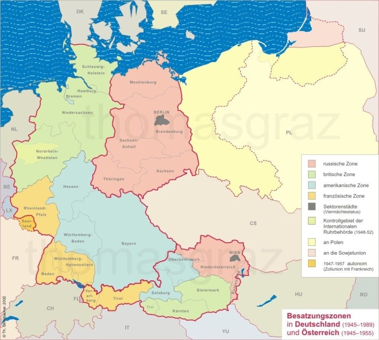 Map Of Germany Before And After Wwii. | Europe Maps | Map Layout inside Map Of Germany Before And After Ww2