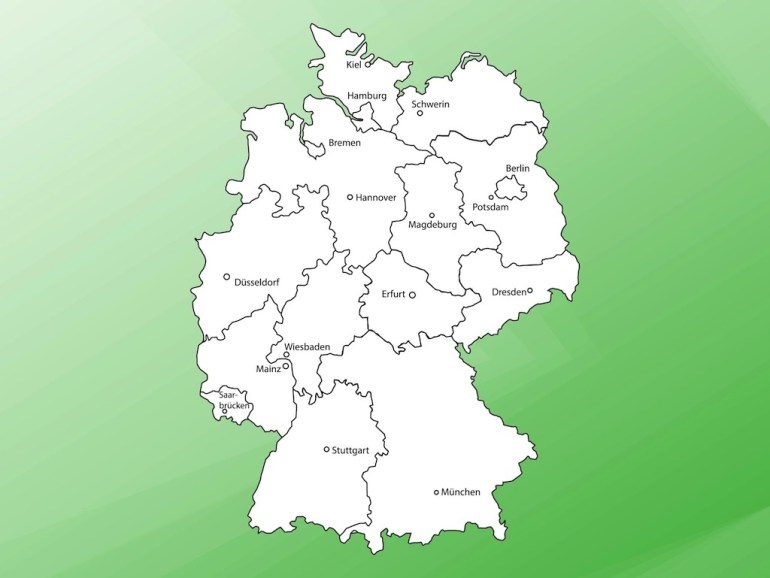 Map Of Germany Vector Art & Graphics | Freevector regarding Free Map Of Germany
