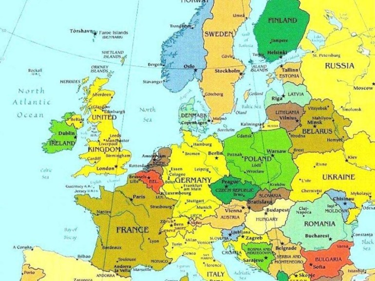 Map Of Luxembourg And Surrounding Countries - Map Of Luxembourg And pertaining to Map Of Germany And Surrounding Countries