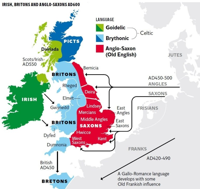 New Genetic Map Of Britain Shows Successive Waves Of Immigration for Genetic Map Of Germany