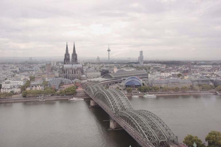 Self-Guided Walking Itinerary For A Day In Cologne - Angela's Corner in Walking Map Of Cologne Germany