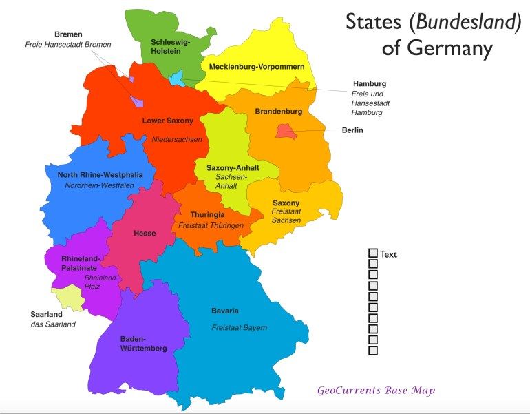 State Map Of Germany #804359 pertaining to German States And Capitals Map